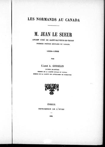 Download M. Jean Le Sueur