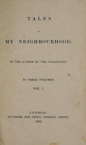 Tales of my neighbourhood.