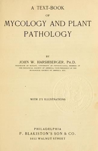 Download A text-book of mycology and plant pathology