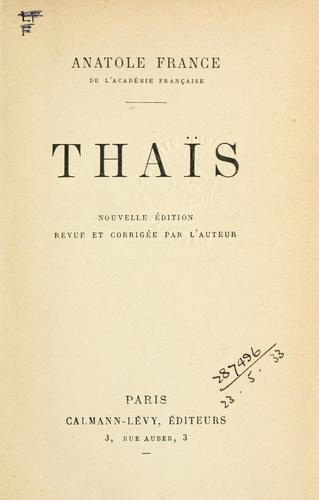 Thaïs.