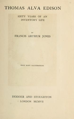Download Thomas Alva Edison