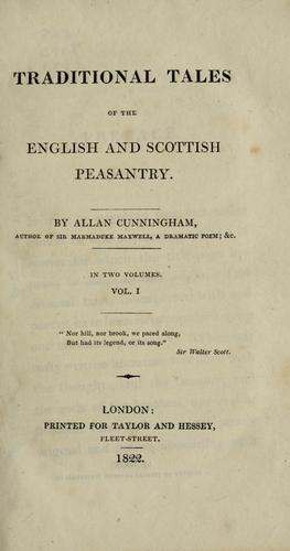 Download Traditional tales of the English and Scottish peasantry.