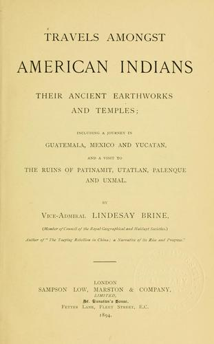 Download Travels amongst American Indians