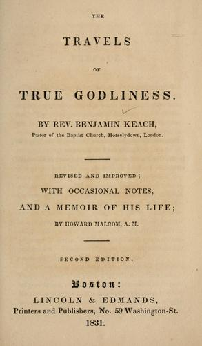 Download The travels of True Godliness