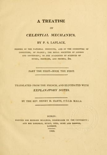 A treatise of celestial mechanics