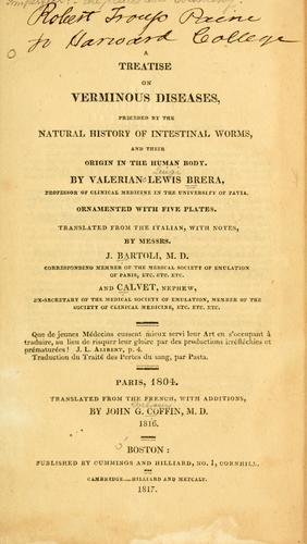 Download A treatise on verminous diseases