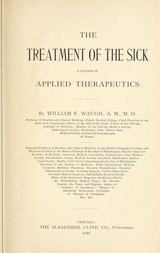 The treatment of the sick