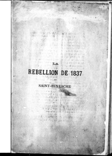 Download La rébellion de 1837 à Saint-Eustache
