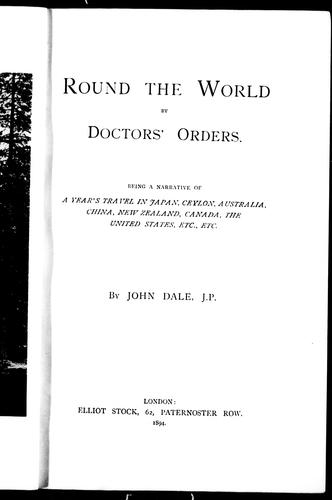 Download Round the world by doctors' orders