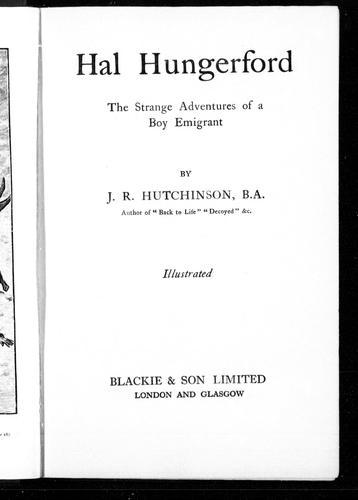Hal Hungerford