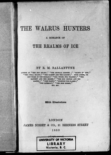 The walrus hunters