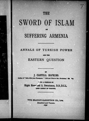 Download The sword of Islam, or, Suffering Armenia