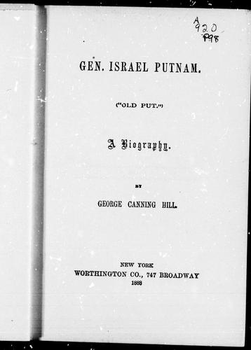 "Download Gen. Israel Putnam (""Old Put"")"