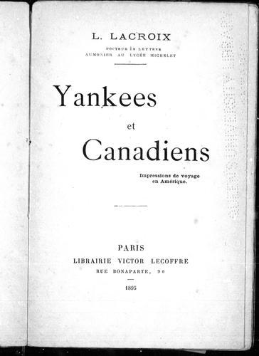 Download Yankees et canadiens