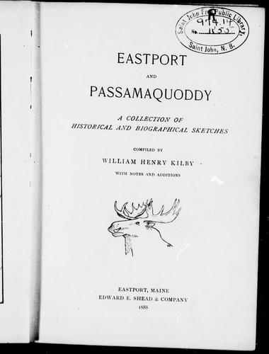 Download Eastport and Passamaquoddy