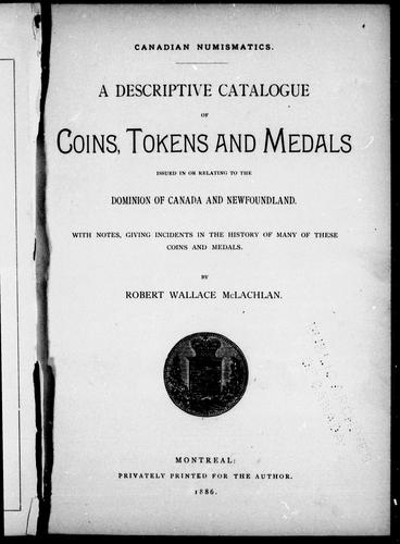 Download Canadian numismatics