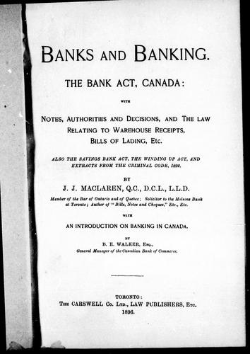 Download Banks and banking