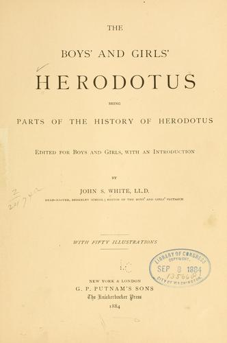 The boys' and girls' Herodotus