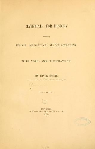 Correspondence of Henry Laurens, of South Carolina.