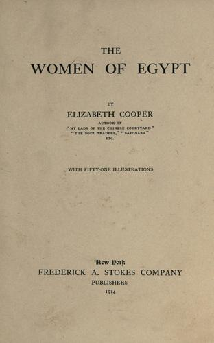 Download The women of Egypt.