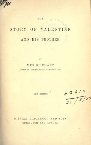 The story of Valentine and his brother.
