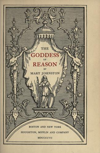 The goddess of reason