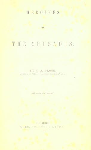 Download Heroines of the crusades.
