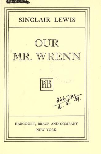 Our Mr. Wrenn.