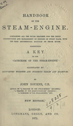 Download Handbook of the steam-engine …