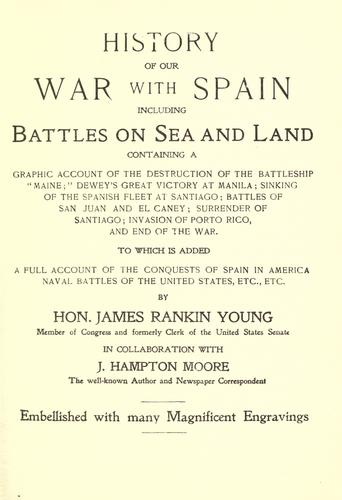History of our war with Spain