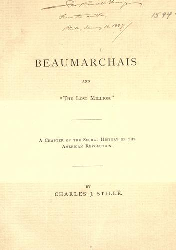 "Download Beaumarchais and the ""lost million""."