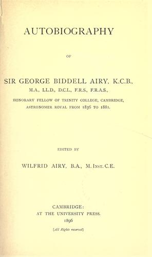 Download Autobiography of Sir George Biddell Airy