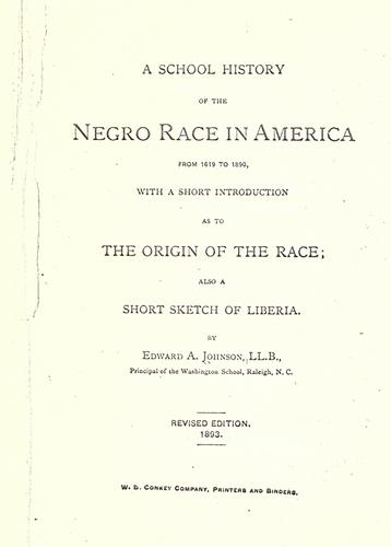 Download A school history of the Negro race in America from 1619 to 1890