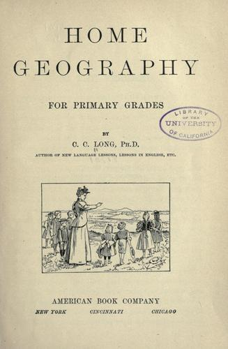 Download Home geography for primary grades