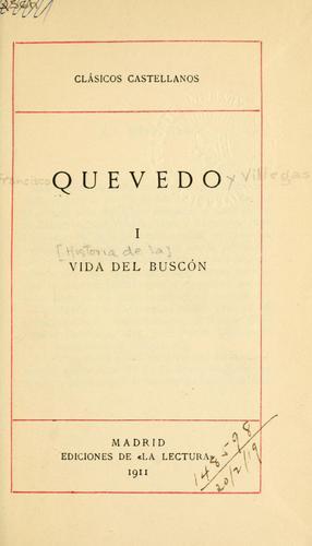 Download Vida del Buscón.