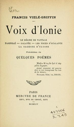 Voix d'Ionie