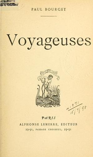 Voyageuses.