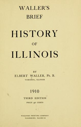 Download Waller's brief history of Illinois