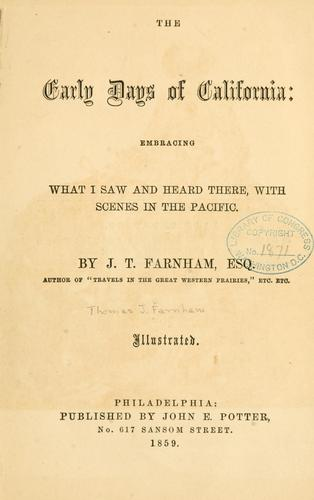 Download The  early days of California