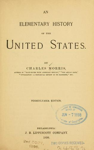 Download An elementary history of the United States.
