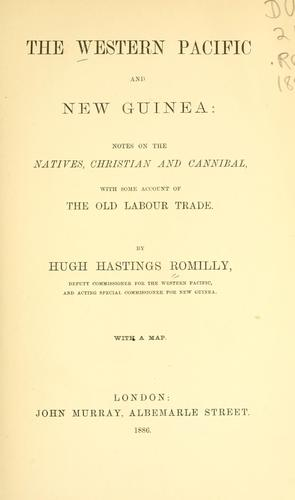 Download The western Pacific and New Guinea