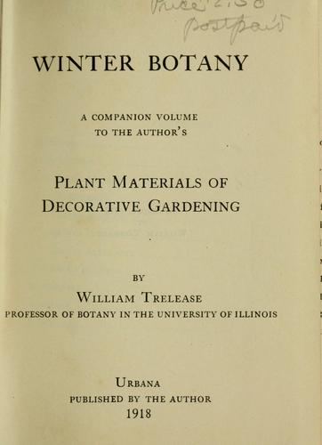 Winter botany