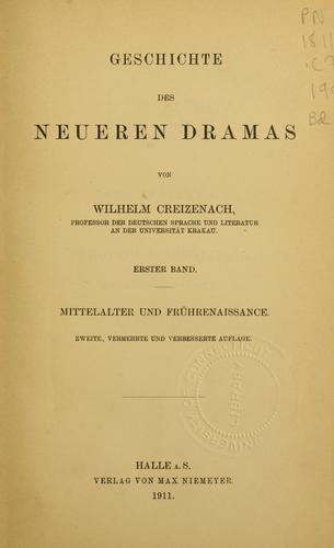Download Geschichte des neueren Dramas