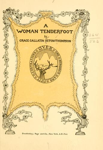 Download A woman tenderfoot