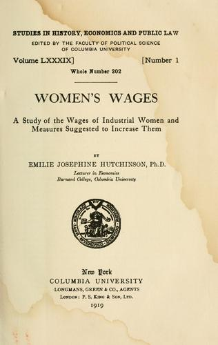 Download Women's wages