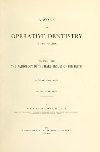 Download A work on operative dentistry …