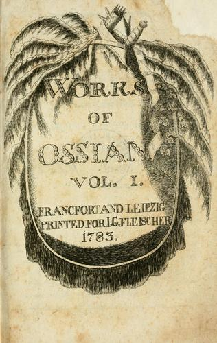 Works of Ossian.