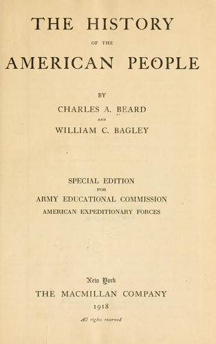 Download The history of the American people