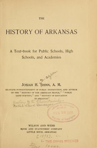 Download The history of Arkansas