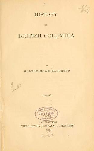 Download History of British Columbia